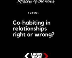CO-HABITING IN RELATIONSHIPS…lets discuss