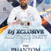 Dj Xclusive All White Party.