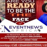 Face of Eventnews Africa Beauty Pageant 2017
