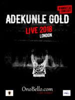 Adekunle Gold Live In London
