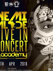 Yemi Alade Live In Concert