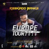 REEKADO BANKS THE PARTY 2018 EUROPE TOUR