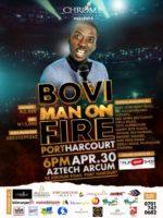 BOVI MAN ON FIRE