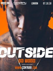 Burna Boy Outside Uk Tour