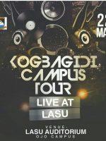Kogbagidi Campus Tour Live AT LASU