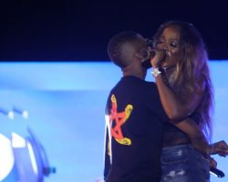 News: WizKid and Tiwa Savage Perform Together In London