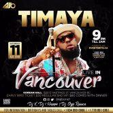 Timaya Live In Vancouver