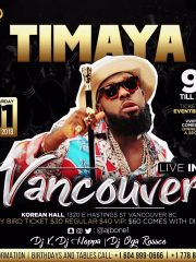 Timaya Live In Vancouver