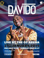 Davido Live At The O2 Arena