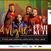 A Night With Femi Kuti