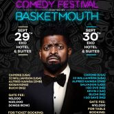 Lords Of The Ribs Comedy Festival Hosted By Basket Mouth.