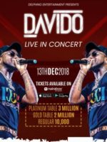Davido Live In Concert