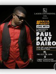 Naija Night Live With The Legendary Musician Paul Play Dairo