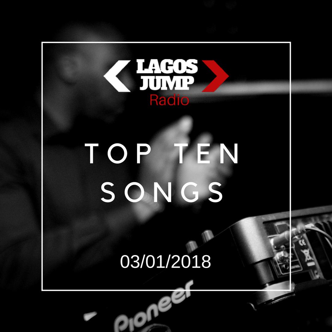03/01/2018 Weeks Top Songs