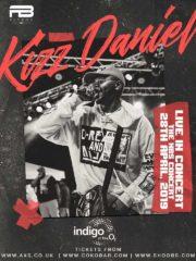 Kizz Daniel – Live in Concert O2 Indigo