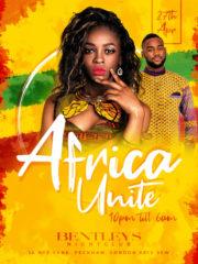 Africa Unite @ Bentleys Night Club in London