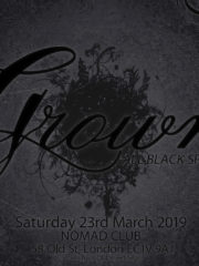 Grown (Over 30s) – Sat 23rd March @ Nomad